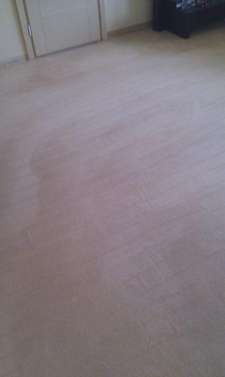 Paklājs pēc tīrīšanas